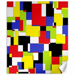 Mod Geometric Canvas 20  x 24  (Unframed)