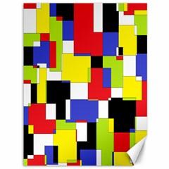 Mod Geometric Canvas 36  X 48  (unframed)