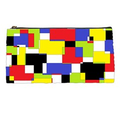 Mod Geometric Pencil Case