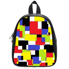 Mod Geometric School Bag (Small)