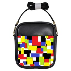 Mod Geometric Girl s Sling Bag