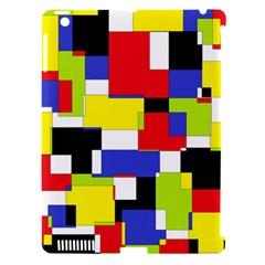 Mod Geometric Apple Ipad 3/4 Hardshell Case (compatible With Smart Cover)