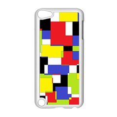 Mod Geometric Apple iPod Touch 5 Case (White)