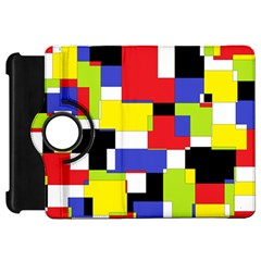 Mod Geometric Kindle Fire HD 7  (1st Gen) Flip 360 Case