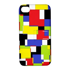 Mod Geometric Apple iPhone 4/4S Hardshell Case with Stand
