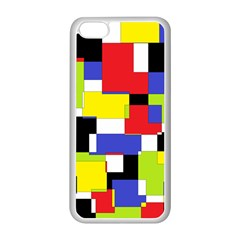 Mod Geometric Apple iPhone 5C Seamless Case (White)