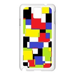 Mod Geometric Samsung Galaxy Note 3 N9005 Case (White)