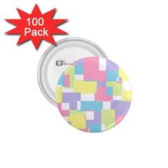 Mod Pastel Geometric 1.75  Button (100 pack)