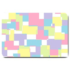 Mod Pastel Geometric Large Door Mat