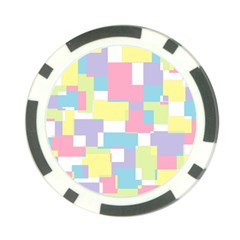 Mod Pastel Geometric Poker Chip