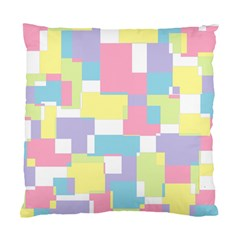 Mod Pastel Geometric Cushion Case (Two Sided)