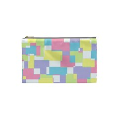 Mod Pastel Geometric Cosmetic Bag (Small)