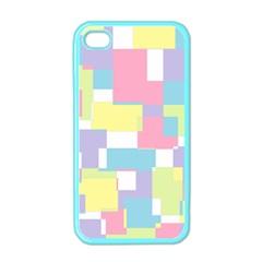 Mod Pastel Geometric Apple Iphone 4 Case (color)