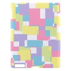 Mod Pastel Geometric Apple Ipad 3/4 Hardshell Case