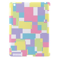 Mod Pastel Geometric Apple Ipad 3/4 Hardshell Case (compatible With Smart Cover)