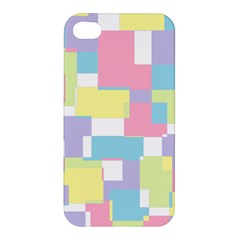 Mod Pastel Geometric Apple Iphone 4/4s Premium Hardshell Case