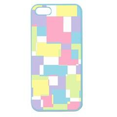 Mod Pastel Geometric Apple Seamless iPhone 5 Case (Color)
