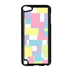 Mod Pastel Geometric Apple iPod Touch 5 Case (Black)