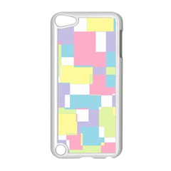 Mod Pastel Geometric Apple iPod Touch 5 Case (White)
