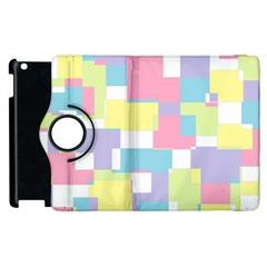 Mod Pastel Geometric Apple iPad 2 Flip 360 Case