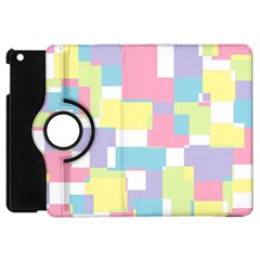 Mod Pastel Geometric Apple Ipad Mini Flip 360 Case