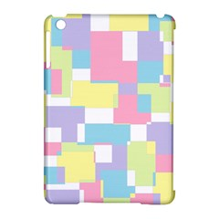 Mod Pastel Geometric Apple iPad Mini Hardshell Case (Compatible with Smart Cover)