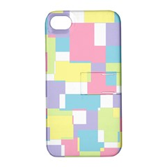 Mod Pastel Geometric Apple iPhone 4/4S Hardshell Case with Stand