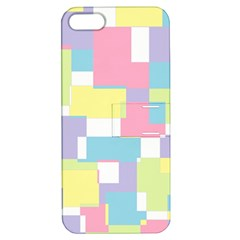 Mod Pastel Geometric Apple Iphone 5 Hardshell Case With Stand
