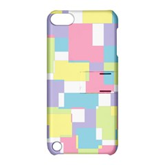Mod Pastel Geometric Apple iPod Touch 5 Hardshell Case with Stand