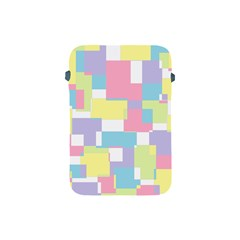 Mod Pastel Geometric Apple Ipad Mini Protective Sleeve