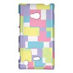 Mod Pastel Geometric Nokia Lumia 720 Hardshell Case
