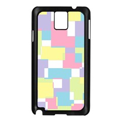 Mod Pastel Geometric Samsung Galaxy Note 3 N9005 Case (Black)