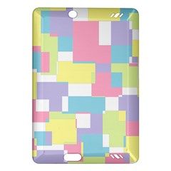 Mod Pastel Geometric Kindle Fire Hd 7  (2nd Gen) Hardshell Case
