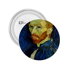 Vincent Van Gogh Self Portrait With Palette 2 25  Button