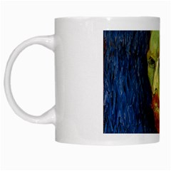 Vincent Van Gogh Self Portrait With Palette White Coffee Mug