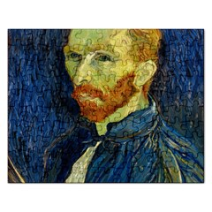 Vincent Van Gogh Self Portrait With Palette Jigsaw Puzzle (rectangle)