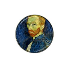 Vincent Van Gogh Self Portrait With Palette Golf Ball Marker (for Hat Clip)
