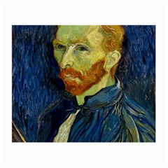 Vincent Van Gogh Self Portrait With Palette Glasses Cloth (Small)