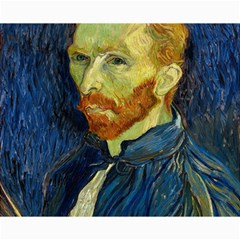 Vincent Van Gogh Self Portrait With Palette Canvas 8  x 10  (Unframed)