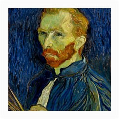 Vincent Van Gogh Self Portrait With Palette Glasses Cloth (Medium, Two Sided)