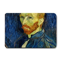 Vincent Van Gogh Self Portrait With Palette Small Door Mat