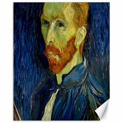 Vincent Van Gogh Self Portrait With Palette Canvas 11  x 14  (Unframed)