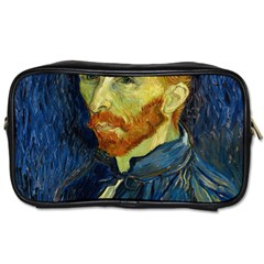 Vincent Van Gogh Self Portrait With Palette Travel Toiletry Bag (Two Sides)