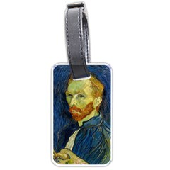 Vincent Van Gogh Self Portrait With Palette Luggage Tag (One Side)