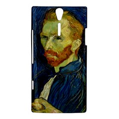 Vincent Van Gogh Self Portrait With Palette Sony Xperia S Hardshell Case