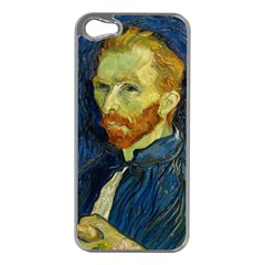 Vincent Van Gogh Self Portrait With Palette Apple Iphone 5 Case (silver)