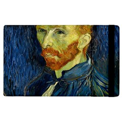 Vincent Van Gogh Self Portrait With Palette Apple iPad 2 Flip Case