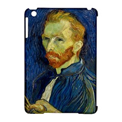 Vincent Van Gogh Self Portrait With Palette Apple Ipad Mini Hardshell Case (compatible With Smart Cover)