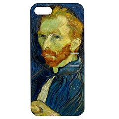 Vincent Van Gogh Self Portrait With Palette Apple Iphone 5 Hardshell Case With Stand