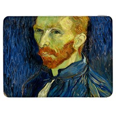 Vincent Van Gogh Self Portrait With Palette Samsung Galaxy Tab 7  P1000 Flip Case
